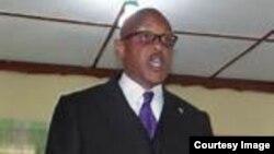 FILE - Liberia Anti-Corruption Commission chairman James Verdier.