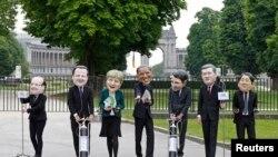 សកម្មជនអង្គការ Oxfam ពាក់មុខមេដឹកនាំប្រទេសសមាជិក G-7។ យោងទៅតាមអង្គការ Oxfamឲ្យដឹងថា ទ្រព្យសម្បត្តិសរុបរបស់អ្នកមានបំផុតដែលមានចំនួនមួយភាគរយនៃមនុស្សលើពិភពលោកនឹងកាន់កាប់ទ្រព្យសម្បត្តិលើសទ្រព្យសម្បត្តិសរុបរបស់មនុស្ស៩៩ភាគរយនៅគ្រាណាមួយ នៅក្នុងឆ្នាំ២០១៦។
