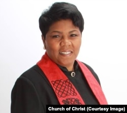 Traci Blackmon of Christ the King United Church of Christ.