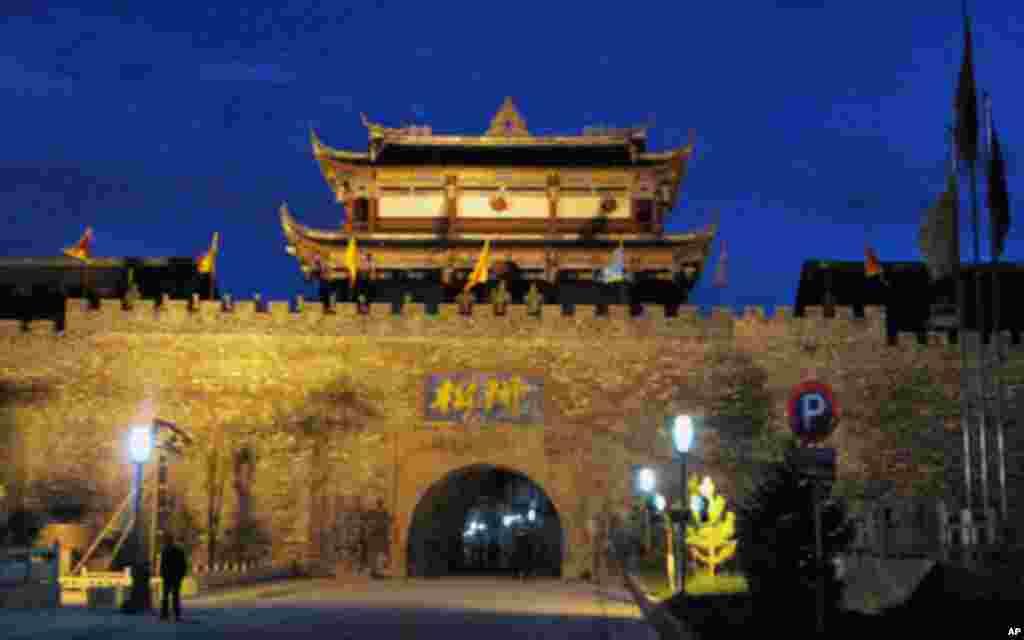 位于四川省阿坝藏族羌族自治州东北部的松潘古城