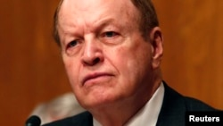 "FILE - Senator Richard Shelby, R-Ala., says he thinks President Barack Obama is ""trying to get around the law"" with his recent executive orders on weapons issues."