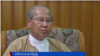 NLD အစိုးရလက္ထက္ မေကြးတိုင္းေဒသႀကီး ဝန္ႀကီးခ်ဳပ္ ေဒါက္တာေအာင္မိုးညိဳ (ဓာတ္ပံု - VOA)