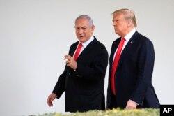 پرزیدنت ترامپ بعد از دیدار با نتانیاهو با رقیب انتخاباتی او دیدار میکند.