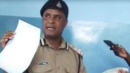 Mmoja wa makamishna wa jeshi la polisi nchini Tanzania.