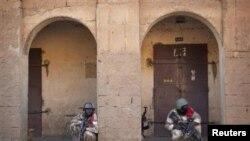 Des soldats maliens à Gao