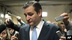 سناتور تد کروز در جمع جمهوری خواهان بانفوذی است که مخالف بودجه تایید شده اند