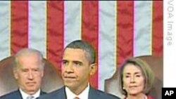 奥巴马就医保改革对美国国会发表讲话