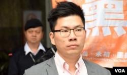 香港工黨主席郭永健。(美國之音湯惠芸)