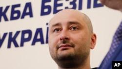 Arkady Babchenko se disculpó con sus familiares y amigos por el dolor causado.