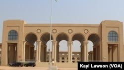 Le Parlement de Lomé, Togo, le 20 janvier 2019. (VOA/Kayi Lawson)