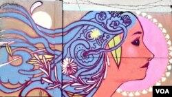 Angola, Luanda graffiti.