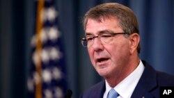 Bộ trưởng Quốc phòng Mỹ Ash Carter. (Ảnh tư liệu)