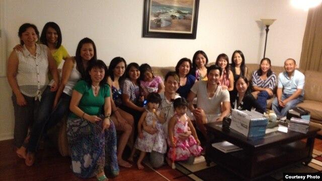 Nhóm người Việt tị nạn ở Orlando