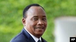 Le président Mahamadou Issoufou du niger à Berlin, 12 juin 2017.