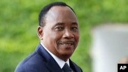 Le président Mahamadou Issoufou du Niger à Berlin, Allemagne, 12 juin 2017.
