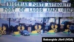 LAGOS: Tashar jiragen ruwa dake Legas