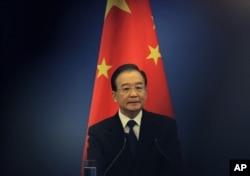 2012年5月13日,中国时任总理温家宝资料照