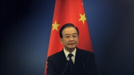 China's Premier Wen Jiabao  May 13, 2012 file photo.