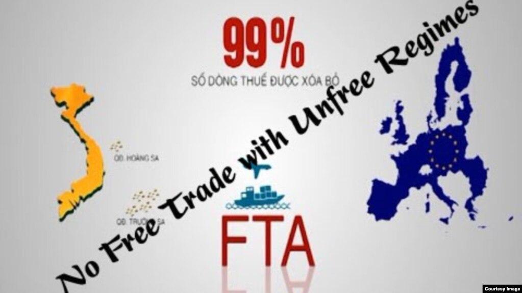Xuất hiện nhiều lời kêu gọi hoãn EVFTA cho đến khi Việt Nam cải thiện nhân quyền