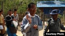 Htin Lin Oo, penulis Myanmar dan mantan pejabat partai Aung San Suu Kyi, Liga Nasional untuk Demokrasi.