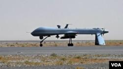 وزارت دفاع آمریکا می گوید یک پهپاد آمریکایی روز جمعه یک فرمانده ارشد الشباب در سومالی را هدف قرار داد.