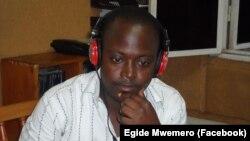 Le journaliste burundais Egide Mwemero.