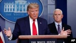 美国总统特朗普发表关于新型冠状病毒的讲话(2020年3月26日)。