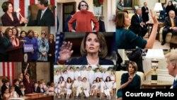 အေမရိကန္ေအာက္လႊတ္ေတာ္ ဒီမုိကရက္ပါတီ ၀ါရင့္အမ်ိဳးသမီးေခါင္းေဆာင္ Nancy Pelosi