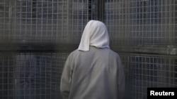 지난 2015년 캘리포니아 샌 퀜틴 주립 교도소의 사형수 수감동.