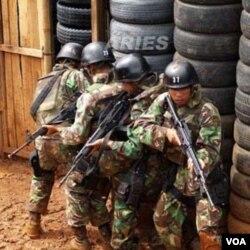 Pasukan TNI juga akan membantu kepolisian memberantas terorisme.