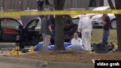 伊斯兰国激进组织星期二宣称对星期天美国得克萨斯州加兰德市一个会议中心外的袭击行动负责