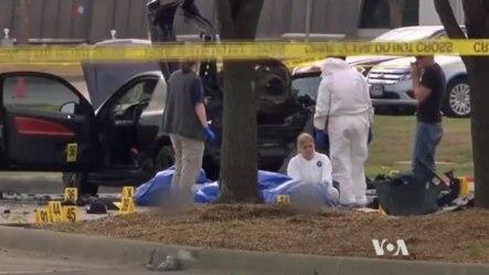 伊斯兰国激进组织星期二宣称对星期天美国得克萨斯州加兰德市一个会议中心外的袭击行动负责。