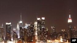 미국 자본주의의 상징 뉴욕 맨하탄