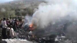 L'armée syrienne libre a abattu un avion du gouvernement le 28 nov. 2012 à Alep.