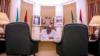 Shugaban Najeriya Muhammadu Buhari a ofishinsa da ke fadarsa (Instagram/muhammadubuhari)