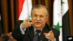 Jalal Talabani, tsohon shugaban Iraqi kuma jagoran kurdawa wanda Allah ya yiwa rasuwa jiya Talata a wani asibiti a birnin Berlin.