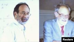 Ovogodišnji dobitnici Nobelove nagrade za ekonomiju, američki ekonomisti Alvin Rot (levo) i Lojd Šepli