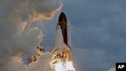 Transbordador espacial Endeavor. Cabo Cañaveral, Florida. Mayo 16,2011.