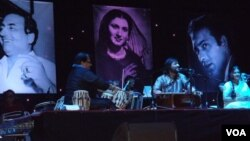 پاک و ہند کے عظیم گلوکاروں کی یاد میں تقریب