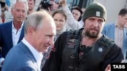 Путин и Залдостанов. Photo: TASS
