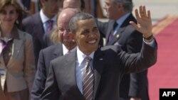 Američki predsednik Barak Obama prilikom dolaska u zvaničnu posetu Čileu
