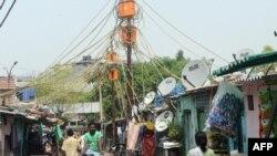 Perkampungan kumuh di New Delhi, India yang tidak terkendali akibat pertumbuhan populasi kota yang pesat (foto: dok).