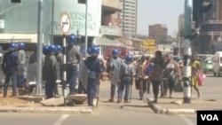 La police Zimbabwéenne