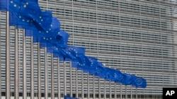 Le siège de l'UE à Bruxelles, Belgique, le 22 juin 2016.