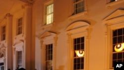 橘色的白宫