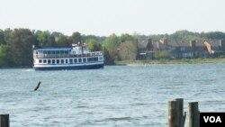 """Un tour por la Bahía de Chesapeake en """"The Patriot"""" permite conocer desde el agua la belleza del lugar."""