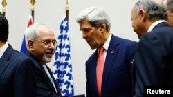 Джон Керри и Мохаммад Джавад Зариф. Встреча в Женеве. Архивное фото.