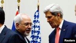 ABD Dışişleri Bakanı John Kerry ve İran Dışişleri Bakanı Cevat Zarif
