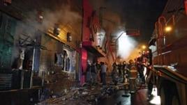 232 të vdekur nga zjarri në një kub nate në Brazil