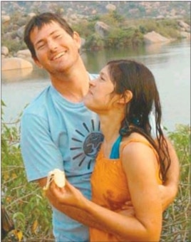 Bulungula lodge owner Dave Martin, with his wife Rejane Woodroffe [courtesy Dave Martin]